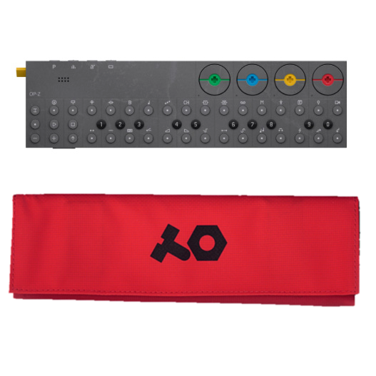 OP-Z with red case