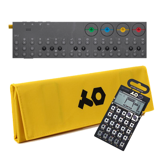 OP-Z with yellow case + PO-20 arcade 特別セット