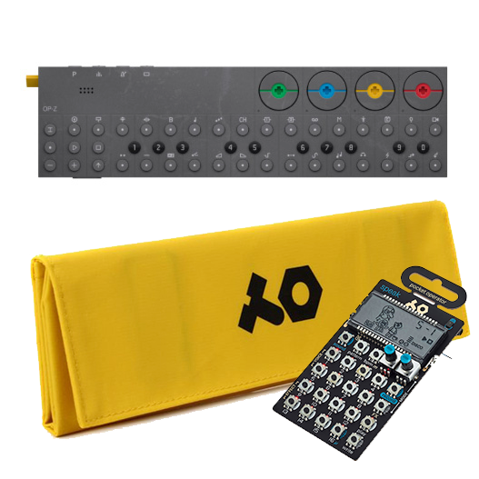 OP-Z with yellow case + PO-35 speak 特別セット