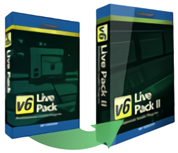 Live Pack I to Live Pack II HD v6