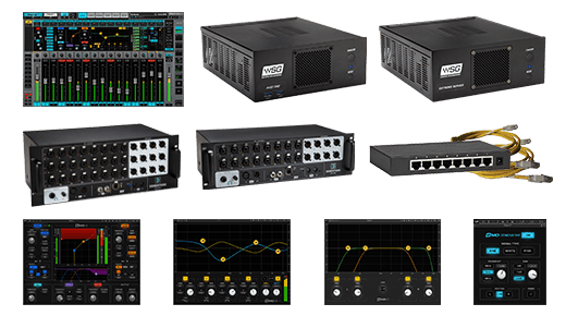 eMotion LV1 24-Preamp StageBox ComboStageBox and SGS C server