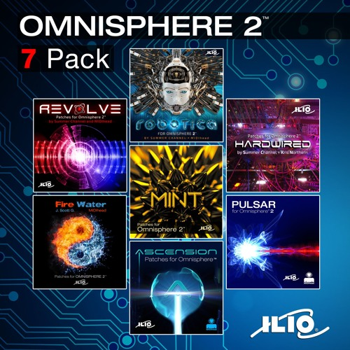 All 7 ILIO Patch Collections for Omnisphere 2™