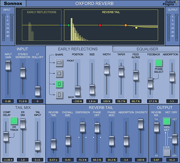 Oxford Reverb (HD-HDX)