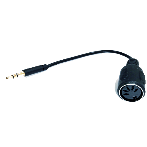 MIDI Cable Adapter 5 Pin Din Plug Male to 3.5mm (1/8in) TRS