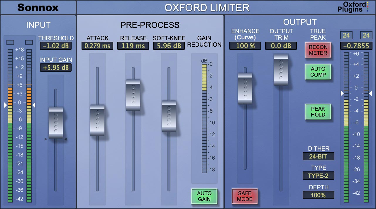Oxford Limiter (HD-HDX)