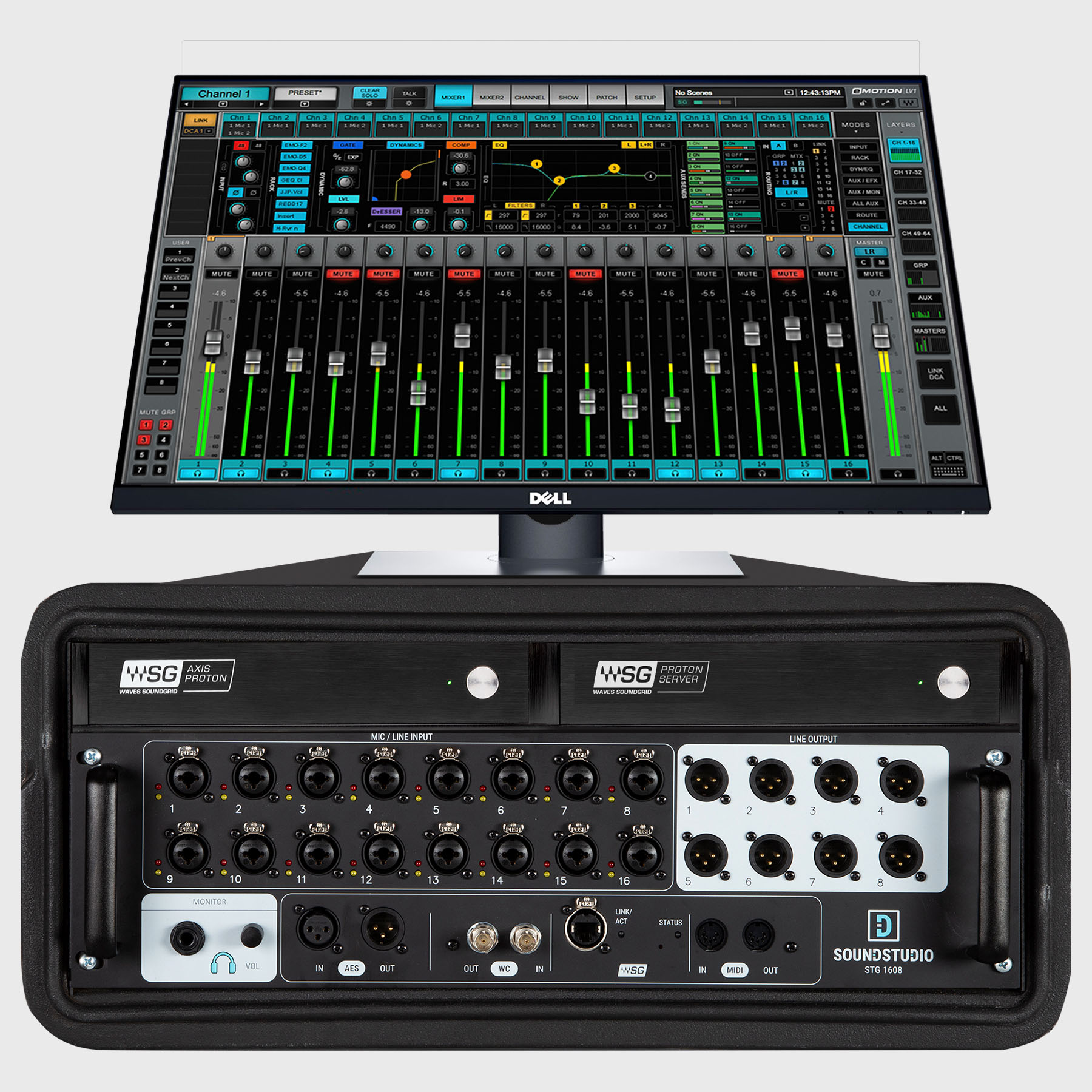 eMotion LV1 Proton 16-Channel Live Mixing System