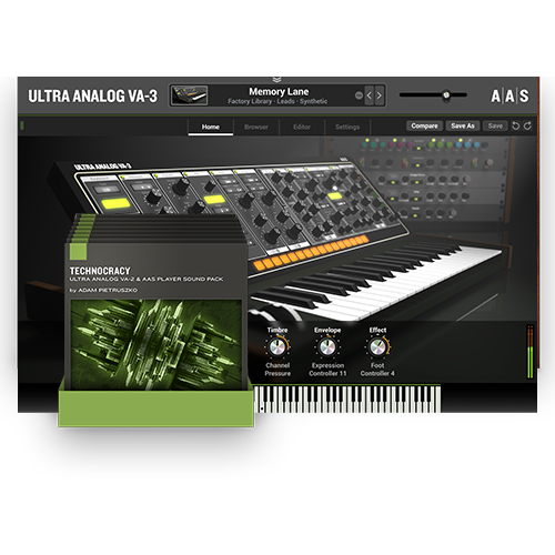 Ultra Analog VA-3 +PACKS