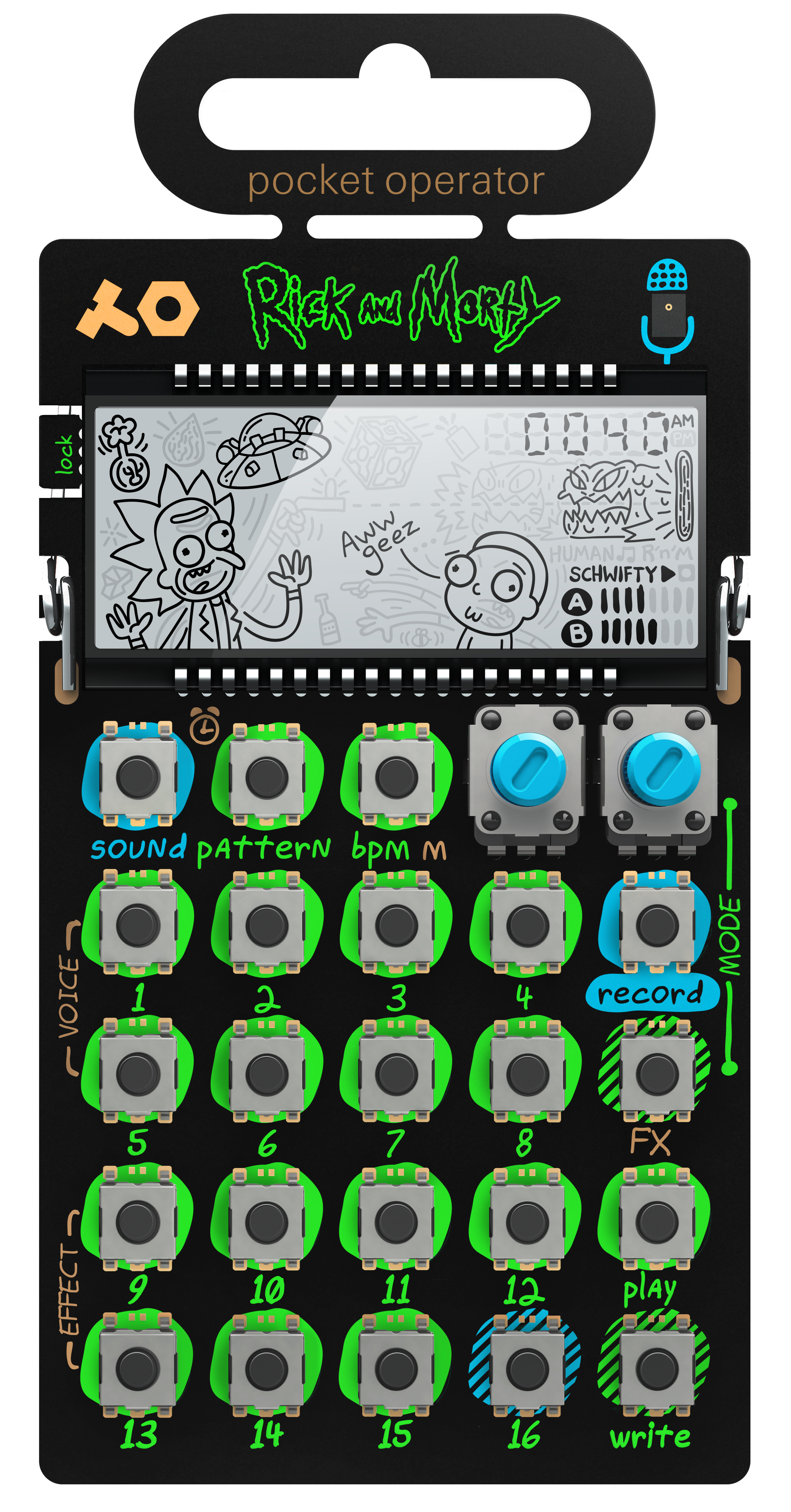 PO-137 Rick & Morty ケース付