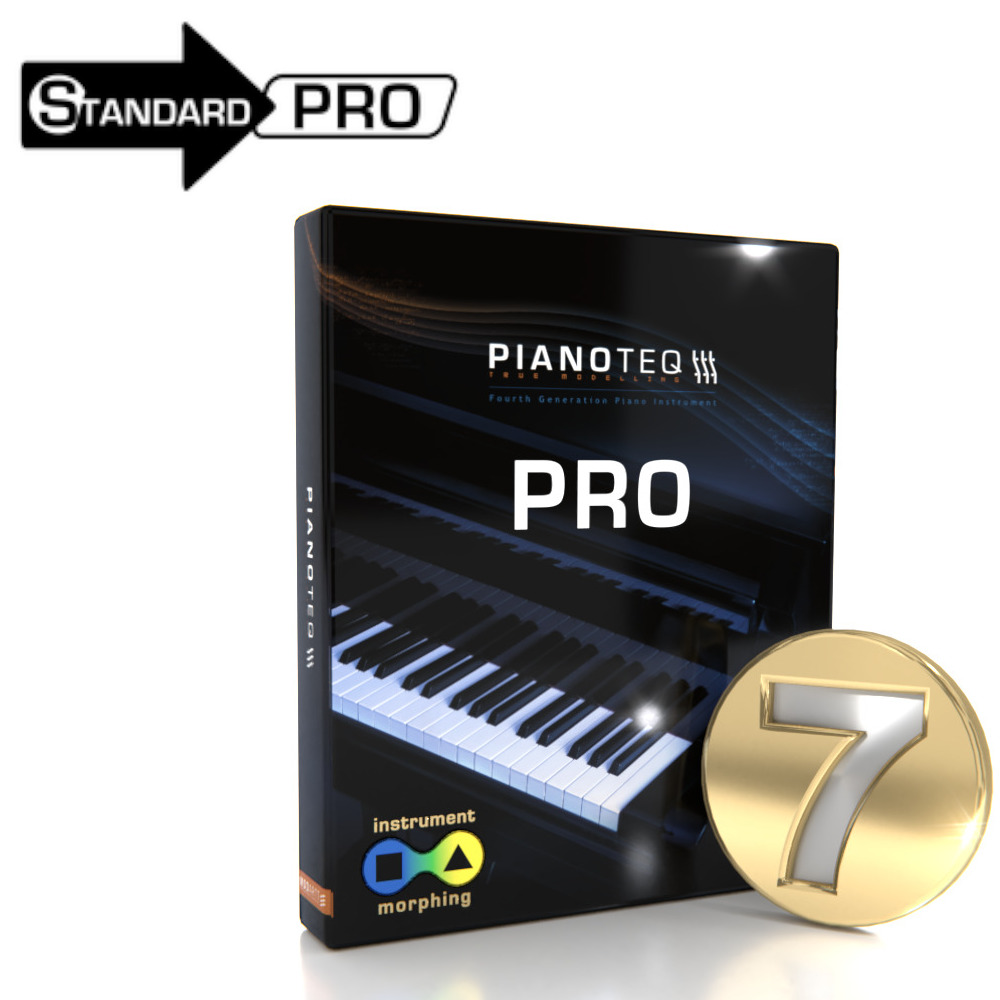 Pianoteq 7 Pro Upgrade from Pianoteq Standard