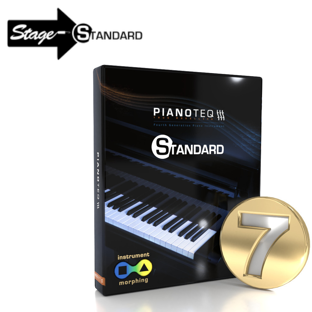Pianoteq 7 Standard Upgrade from Pianoteq Stage