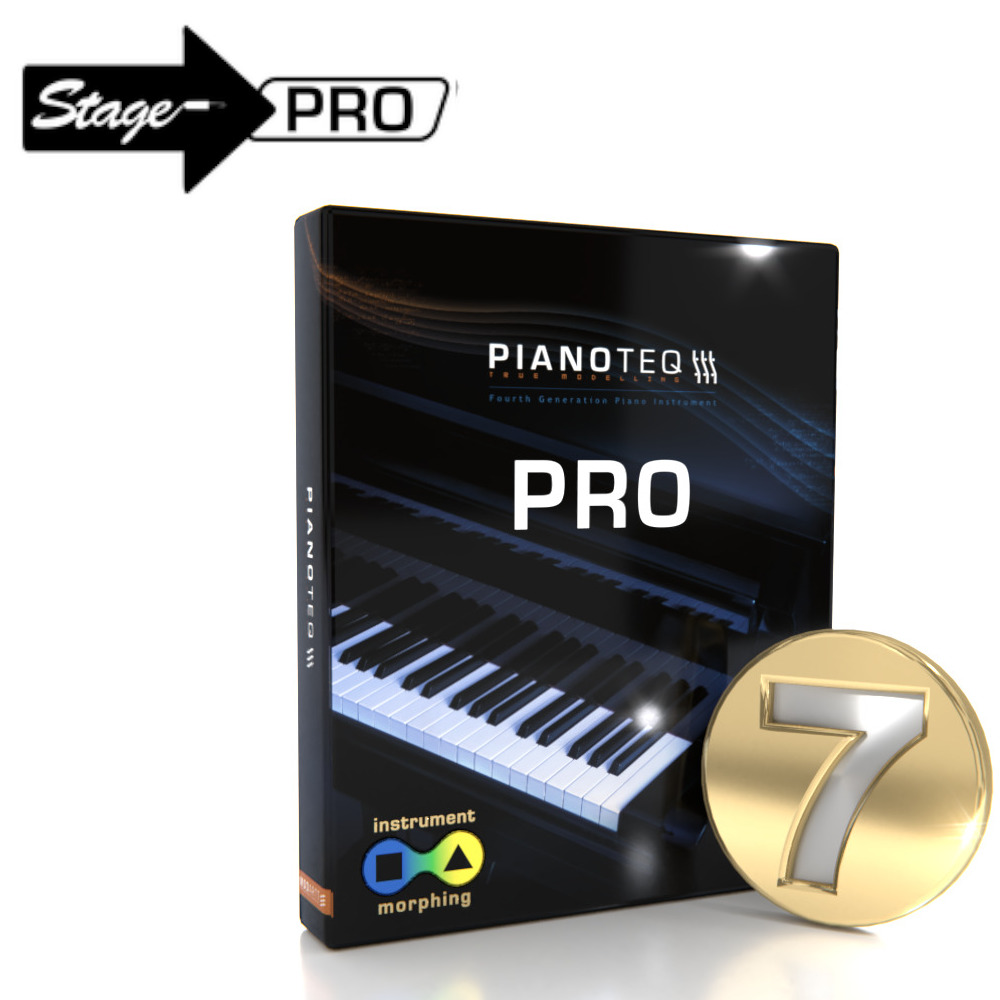 Pianoteq 7 Pro Upgrade from Pianoteq Stage