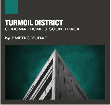 Chromaphone and AAS Player sound pack : Turmoil District
