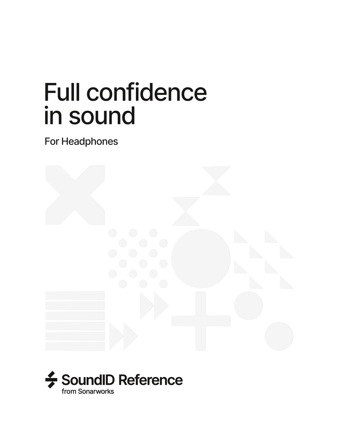 SoundID Reference for Headphones パッケージ版