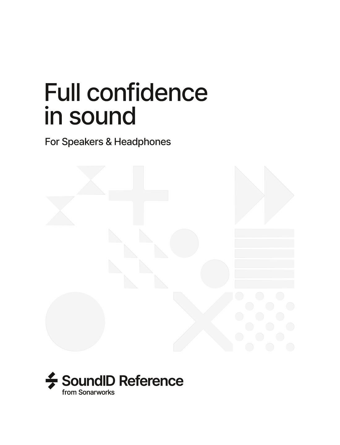 SoundID Reference for Speakers & Headphones パッケージ版