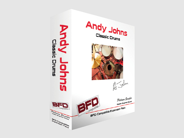 Andy Johns Classic Drums for BFD