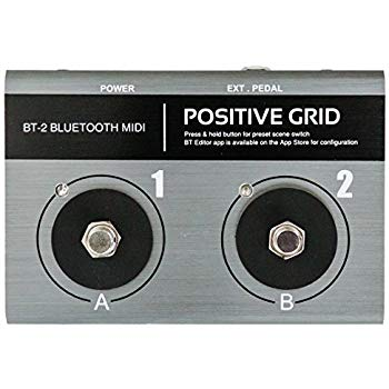 BT-2 BLUETOOTH MIDI PEDAL 展示開封品(未通電)