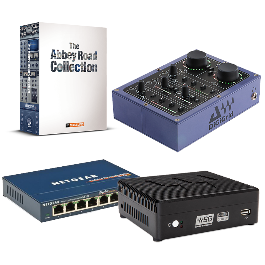 Mobile Server & DiGiGrid D & Netgear GS108 + 無償特典:Abbey Road Collection