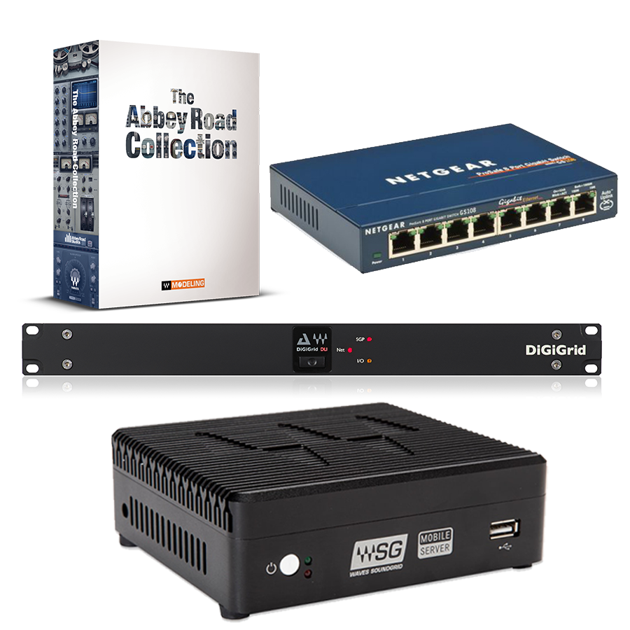 Mobile Server & DLI & Netgear GS108 + 無償特典:Abbey Road Collection